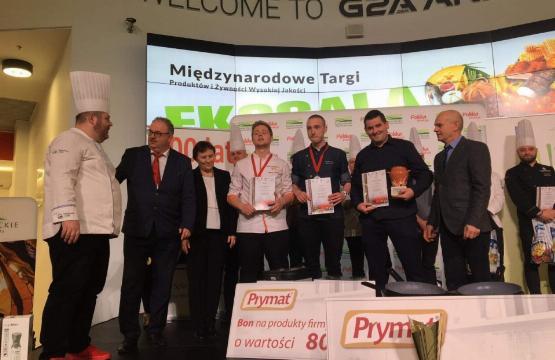 Obrazek newsa Gastronom na podium w Europejskim Konkursie Kulinarnym Ekogala 2019