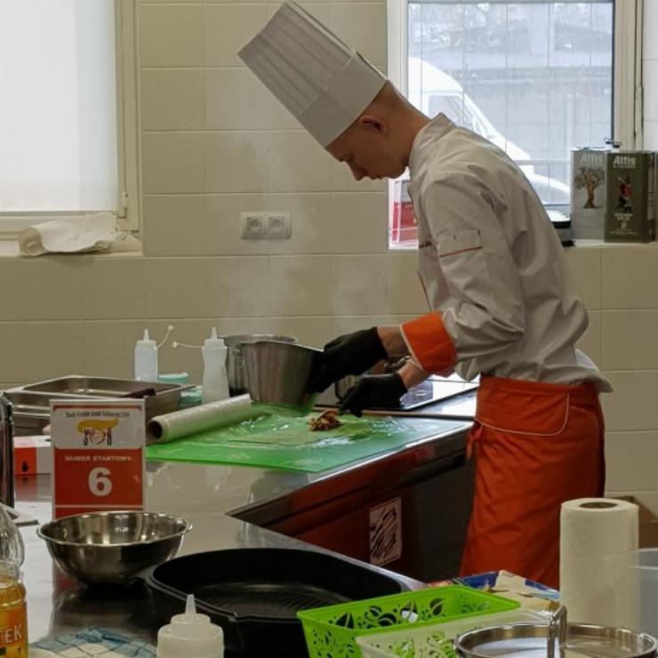 Obrazek galerii Młody Kreator Sztuki Kulinarnej