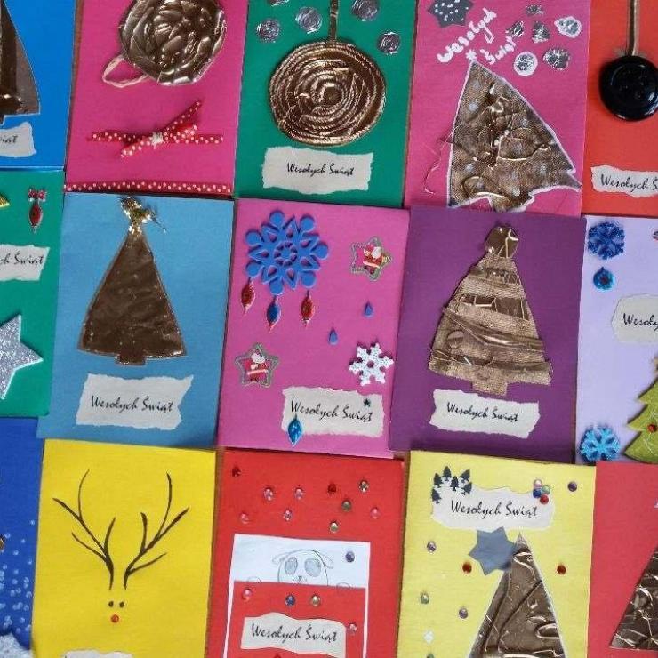 Obrazek galerii Kartki świąteczne
