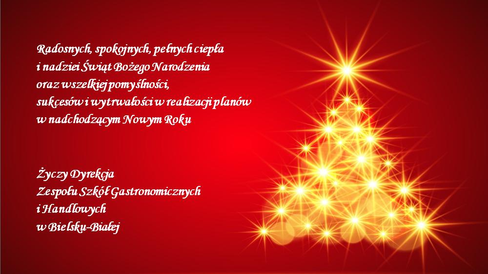Obrazek newsa Boże Narodzenie i Nowy Rok